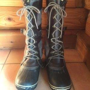 SOREL Conquest Carly Winter Waterproof Boots, Sz 9